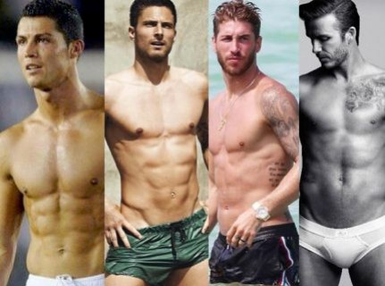 Feast Your Eyes And Tell Us Which Footballer Has The Best Body